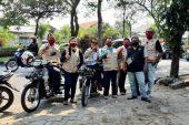 Turut Perangi Covid-19, Kaum Difabel Fordiva Bagi – Bagi Masker Di Keputih, Surabaya.