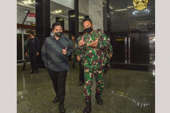 KSAD Jenderal TNI Andika Perkasa Didaulat Jabatan Baru Sebagai Waka KPCPEN