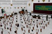 Parade Penerimaan Caba PK TNI AD 2020, Dipimpin Langsung Pangdam IV/Diponegoro