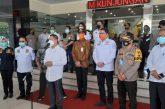 Kunker Komisi III DPR RI di Polda Jateng, Bagikan 36.000 Masker Kepada Komunitas Masyarakat