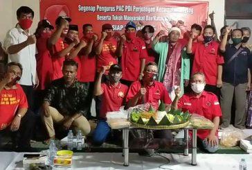 PAC Dapil 5 PDI Perjuangan Surabaya, Siap Dukung Satu Rekom Untuk Pasangan Wisnu – Lia