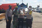 Polres Klaten – Kodim 0723/Klaten, Salurkan Bantuan Beras Bagi Warga Terdampak Covid-19